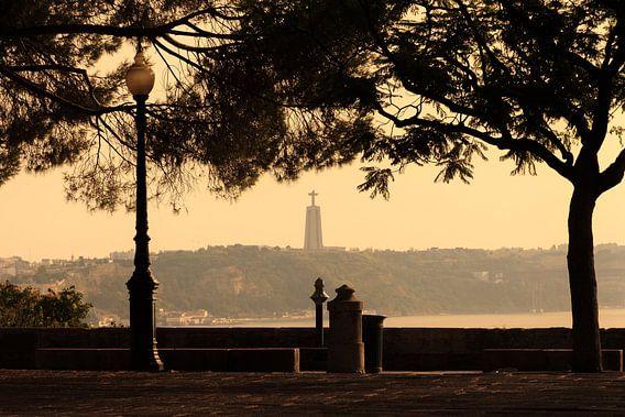 Lissabon uitzicht Cristo  van Dennis van de Water