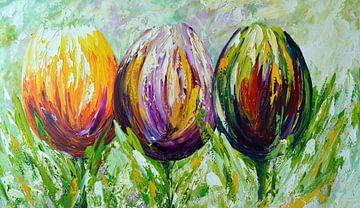 Tulpen von Gena Theheartofart