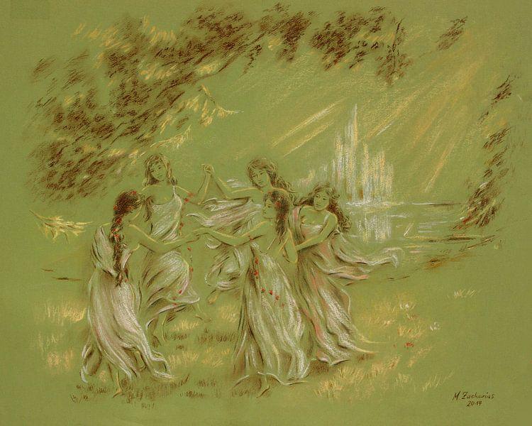Fontein van de Jeugd van Marita Zacharias