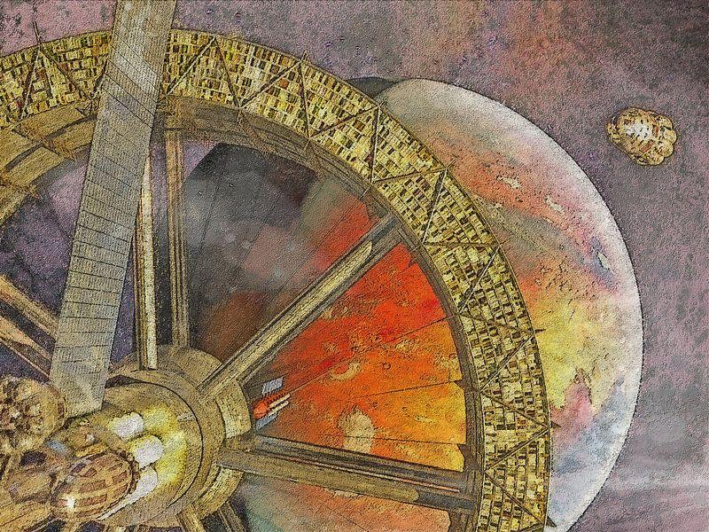 De Ruimtelift van Mars van Frans Blok