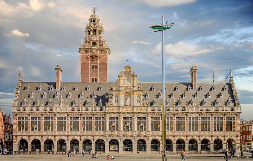 Universiteit bibliotheek Leuven van Yvon van der Wijk
