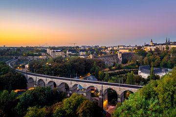 Luxembourg le matin sur Marcel Samson