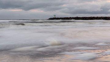 Zonsondergang aan de kust sur D. Henriquez
