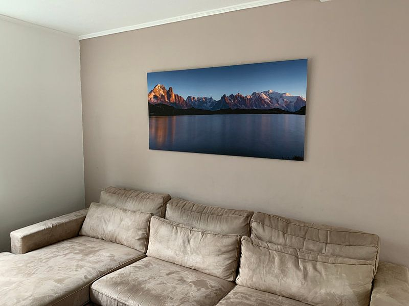 Klantfoto: Lac des Chéserys van Sander van der Werf, op xpozer