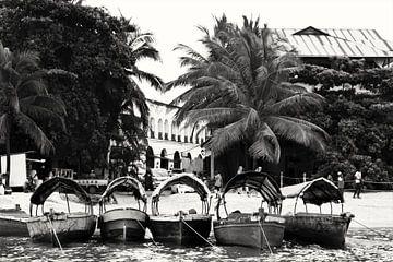 Boten van Zanzibar van Bart van Mastrigt