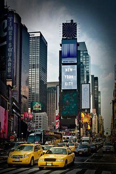 Times Square NYC Verkeer van Melanie Viola