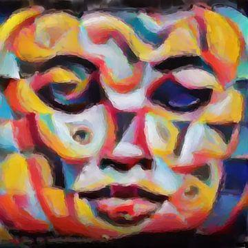 Abstract Inspiratie XXVII van Maurice Dawson