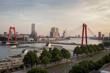 Sky line Rotterdam van