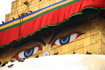 Buddha-eyes van CJ - Fotografie