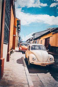 Twee Hurbies in San Cristobal de las Casas - Mexico. van Joris Pannemans