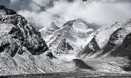 Bergpas tussen Tibet en Nepal