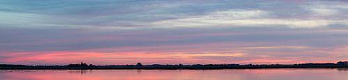 zonsondergang Roegwold.