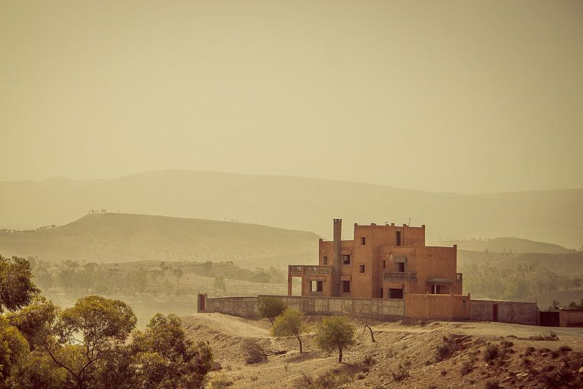 Huis in de hoge atlas van Wouter Seegers