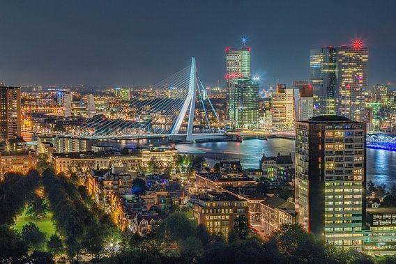 Rotterdam Erasmusbrug van Henk Smit