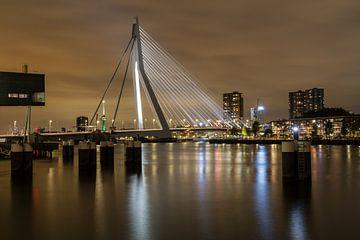 Erasmusbrug, Rotterdam van Peter Hooijmeijer