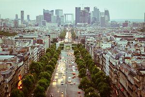 Parijs van bovenaf van