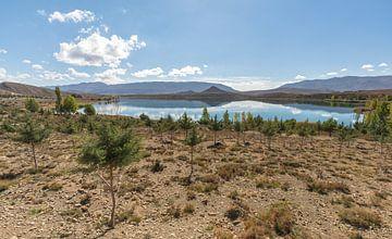 Tislit Lake (Marokko) van Marcel Kerdijk