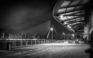 Pont Erasmus - Le Cygne Rotterdam sur Mart Houtman
