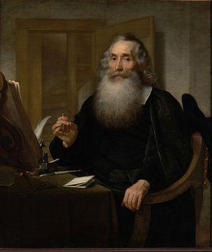 Porträt von Petrus Scriverius, Bartholomeus van der Helst