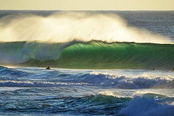 Tonel sunset surf von massimo pardini