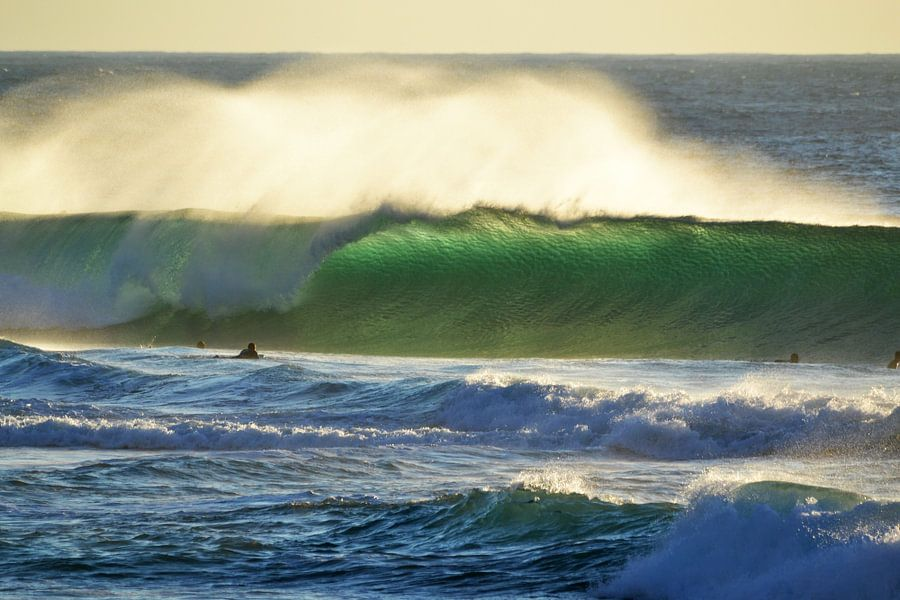 Tonel sunset surf