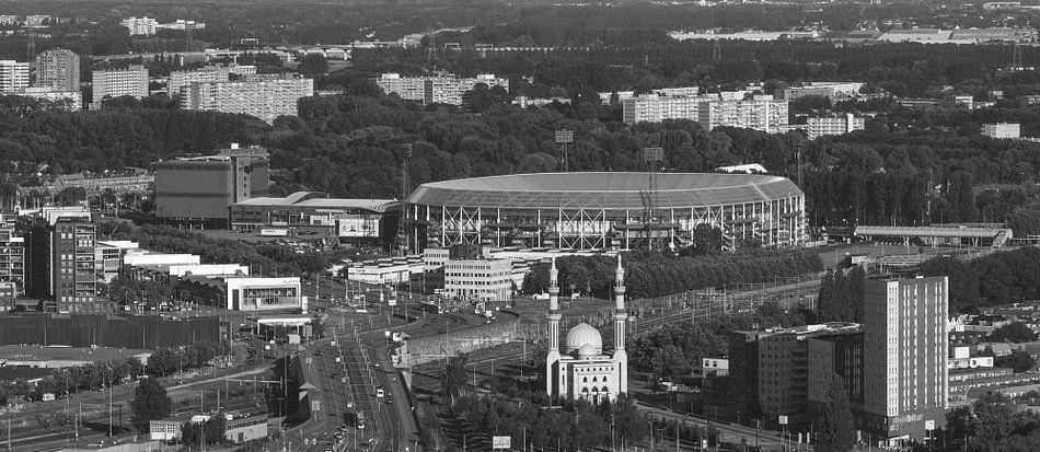 Feyenoord stadion quot de kuip quot in rotterdam for Canvas feyenoord de kuip