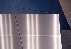 Metalen wanden reflectie