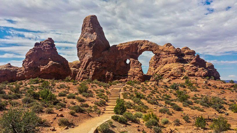 Arches National Park Utah USA van Dimitri Verkuijl