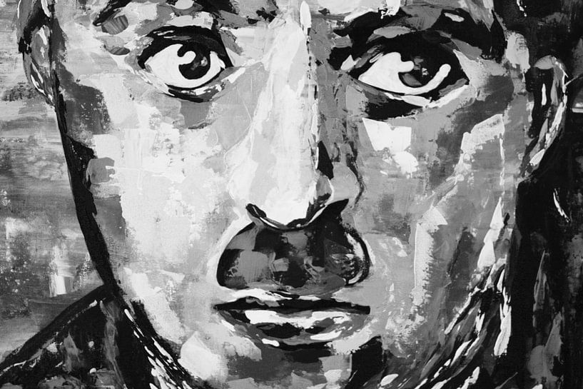 """Charlie Chaplin """"Augen"""" von Kathleen Artist Fine Art"""