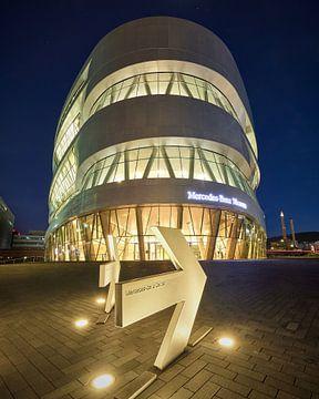 Avond in het Mercedes Benz Museum van Keith Wilson Photography