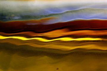 Landschap - fantasie (nr.2). van Wim Bodewes