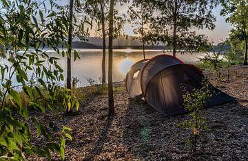 Zonsopkomst aan het meer van Mario Calma