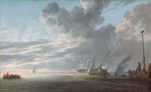 Estuary at Day's End, Simon de Vlieger