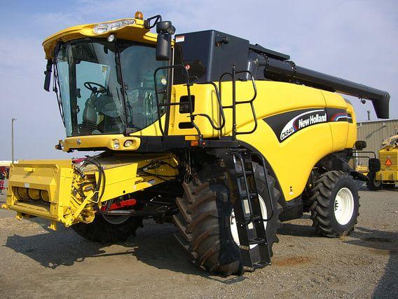 New Holland CX840 Canada van Wilbert Van Veldhuizen