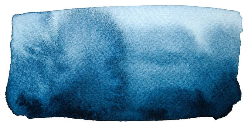 Still waters run deep van Watercolor Wall