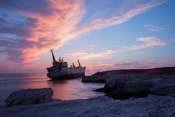 Scheepswrak Cyprus van