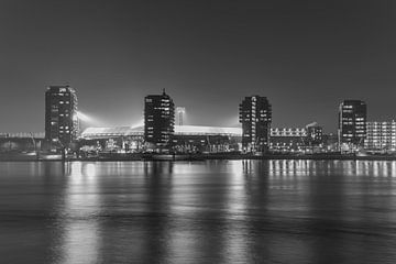 "Feyenoord Stadion ""De Kuip"" 2017 in Rotterdam van MS Fotografie | Marc van der Stelt"
