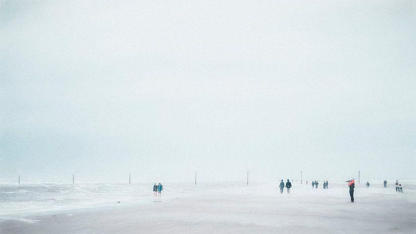 Sturm an der Nordsee von Heiko Westphalen