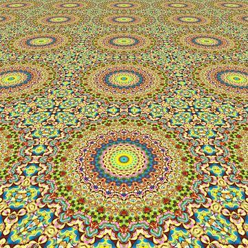Mandala perspective III sur Marion Tenbergen