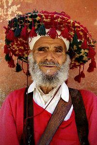 Waterverkoper in Marrakech