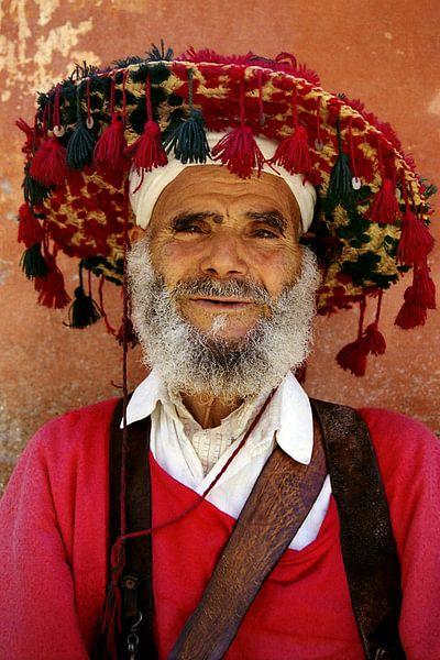 Waterverkoper in Marrakech van Gonnie van de Schans