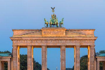 Sonnenaufgang am Brandenburger Tor