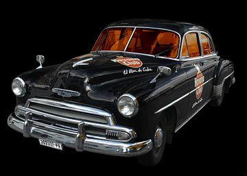Chevrolet Deluxe with Havana Club von aRi F. Huber