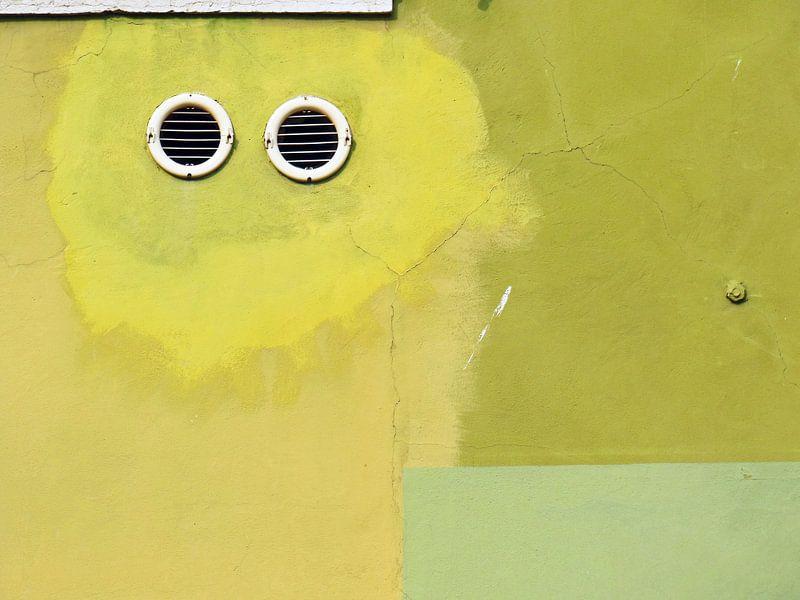 Urban Abstract / Wall van Rüdiger Hirt