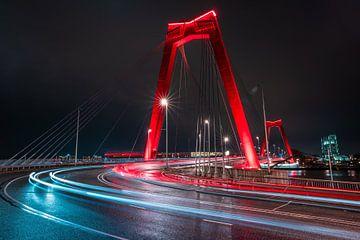 Willemsbrug Rotterdam sur Jeroen Mikkers