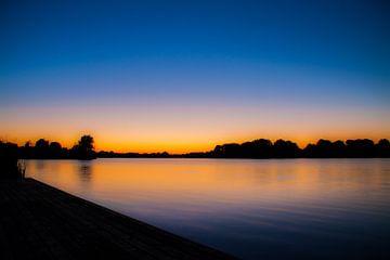 Zonsondergang Gaasperplas van Otof Fotografie