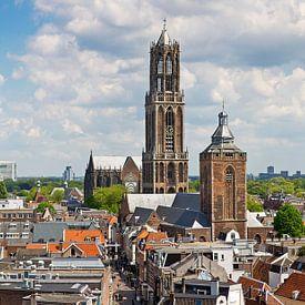Panorama Domturm in Utrecht von Anton de Zeeuw