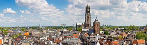 Panorama Dom toren te Utrecht van Anton de Zeeuw