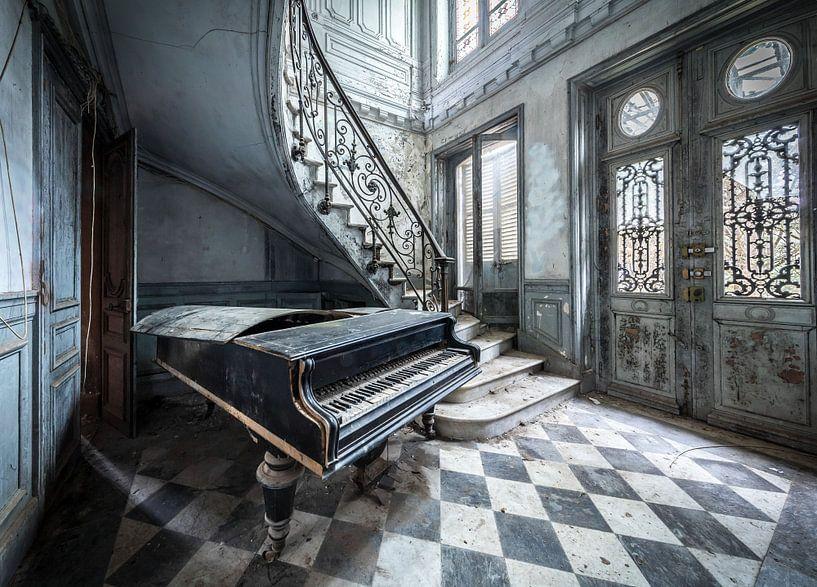 Mein altes Klavier von Inge van den Brande