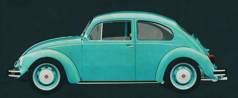 Volkswagen Kever Sedan 1972 van Jan Keteleer